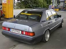mercedes 190e w201 mit keskin felgen kt1 9x16 rundum