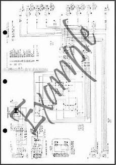 1986 ford ranger wiring diagram 1986 ford tempo mercury topaz foldout wiring diagram 86 electrical schematic oem ebay