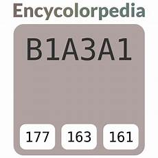 sherwin williams gray 6010 b1a3a1 hex color code rgb and paints
