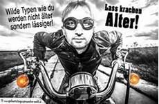 Geburtstag Mann Biker Auf Motorrad Geburtstagsspr 252 Che