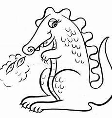 ausmalbild tiere drachen ausmalbilder1001 de