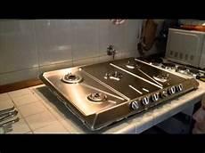 piani cottura ad incasso installazione piano cottura smeg mod srv576gh5 linea