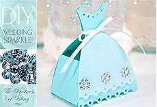 diy wedding sparkle with artistic crystals tabletop gift or birdseed boxes sew4home