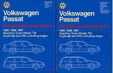 free online auto service manuals 1997 volkswagen passat security system 1995 1997 vw passat repair shop manual 2 volume set