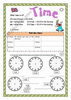 the time worksheets esl 3816 telling time esl worksheet by aramis