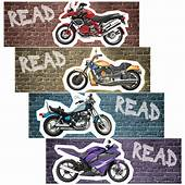 Cars And Motorcycles Bookmarks  Gresswell Specialist