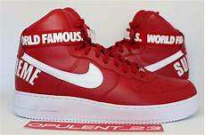 nike air 1 supreme ds supreme nike air 1 high varsity af1 sp w