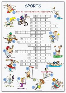 sports worksheets for esl students 15722 sports crossword puzzle esl worksheets for distance learning and physical classrooms