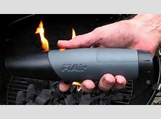 FiAir?Air Blower/Fast Fire Starter for Charcoal Grill, BBQ