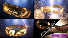 wedding ring invitation e3d after effects project videohive 187 free after effects templates
