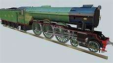 a3 locomotive names locomotives by mylyn flying scotsman a3 mc alpine 1973 textured 3d warehouse