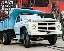 1972 Ford F600 Dump Truck Photo Poster Mexico Zc6946