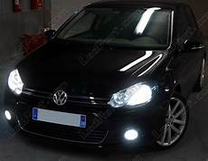 pack headlights xenon effect bulbs for volkswagen golf 6