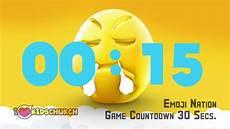 Emoji Malvorlagen Count Emoji Nation Countdown 30 Sec