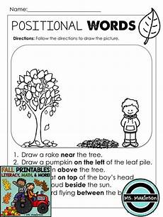 following directions worksheets kindergarten 11712 fall printables literacy math science grade writing grade math math