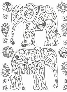 Malvorlagen Mandala Elefant Elefanten Ausmalbilder Mit Bildern Mandala Malvorlagen