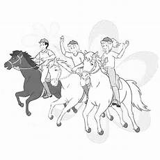 Ausmalbilder Bibi Und Tina Auf Amadeus Und Sabrina Tina Und Amadeus Malvorlage Coloring And Malvorlagan