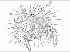 Nexo Knights 22   Ausmalbilder Kostenlos