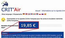 Vignette Crit Air Attention Aux Arnaques Sur