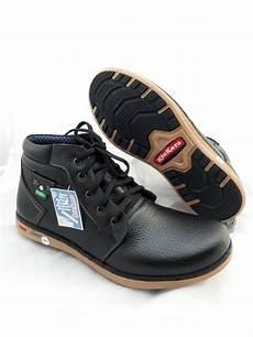 jual sepatu boot pria kulit asli kickers touring casual hitam di lapak lalashoes jono proyek jojo75