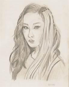 Portrait Femme Dessin De Zhouzhouzhou Post 233 Sur Tvhland