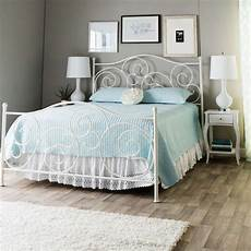 White Metal Bed Bedroom Ideas by Bed Frame Antique White Metal Bedroom