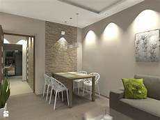 Aranżacje Wnętrz Salon Mieszkanie W śr 243 Dmiejskim Bloku