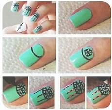 cute nail design step by step nails dream catcher