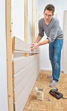 Wandvertäfelung Holz Selber Machen - wandverkleidung aus holz wandverkleidung selbst de