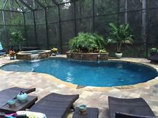 custom pool spa screen enclosure by poolside designs