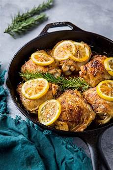 lemon rosemary braised chicken thighs the roasted root lemon rosemary braised chicken thighs the roasted root