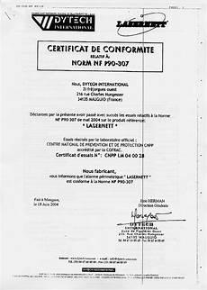 certificat de conformité remorque barri 232 re 233 lectronique lasernett 11043 11044