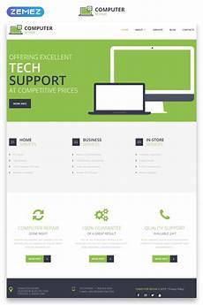 computer repair responsive website template 48166