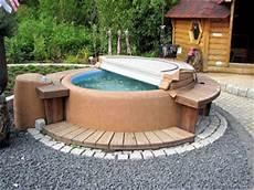 gartenarbeit ideen der wellnessgarten whirlpool sauna