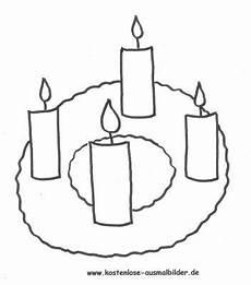 Malvorlagen Weihnachten Adventskranz Adventskranz Malvorlagen Coloring And Malvorlagan