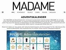Madame Adventskalender Gewinnspiel 35 000