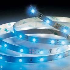bandeau led castorama kit ruban led 3 4 m bleu castorama