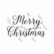merry christmas handwritten text vector free download