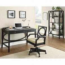 black home office furniture contemporary black home office set coaster furniture
