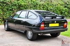 1988 Citroen Cx 25 Gti Turbo 2 Black With Black Leather