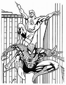 coloring book marvel heroes