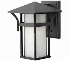hinkley 2574ar harbor 1 light anchor bronze outdoor wall