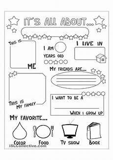 video the kid s answers then write them down all about me all about me worksheet about me