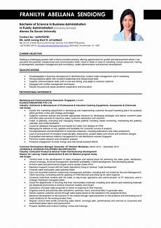 business administration resume sles sle resumes job resume job resume template