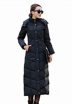 lange damen daunenjacke daunen mantel jacke mit kapuze