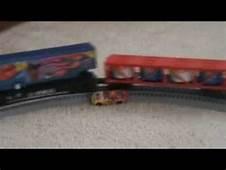 Nils Share O Scale Train Hits Car