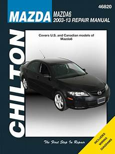 free auto repair manuals 2003 mazda mazda6 security system mazda 6 chilton repair manual 2003 2013 hay46820