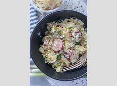 creamy kielbasa and kraut_image