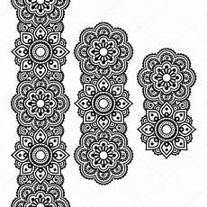 mehndi indische henna t 228 towierung langes muster