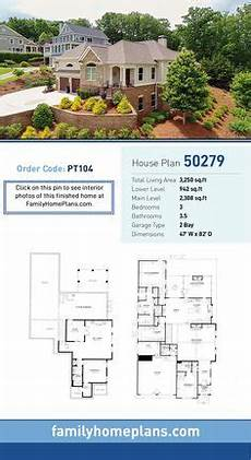 hillside house plans with walkout basement 54 best hillside home plans images hillside house house